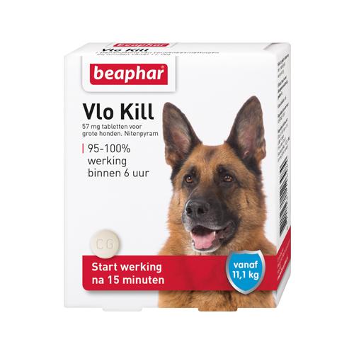 Beaphar Floh Kill+ - Hund ab 11 kg - 6 Tabletten