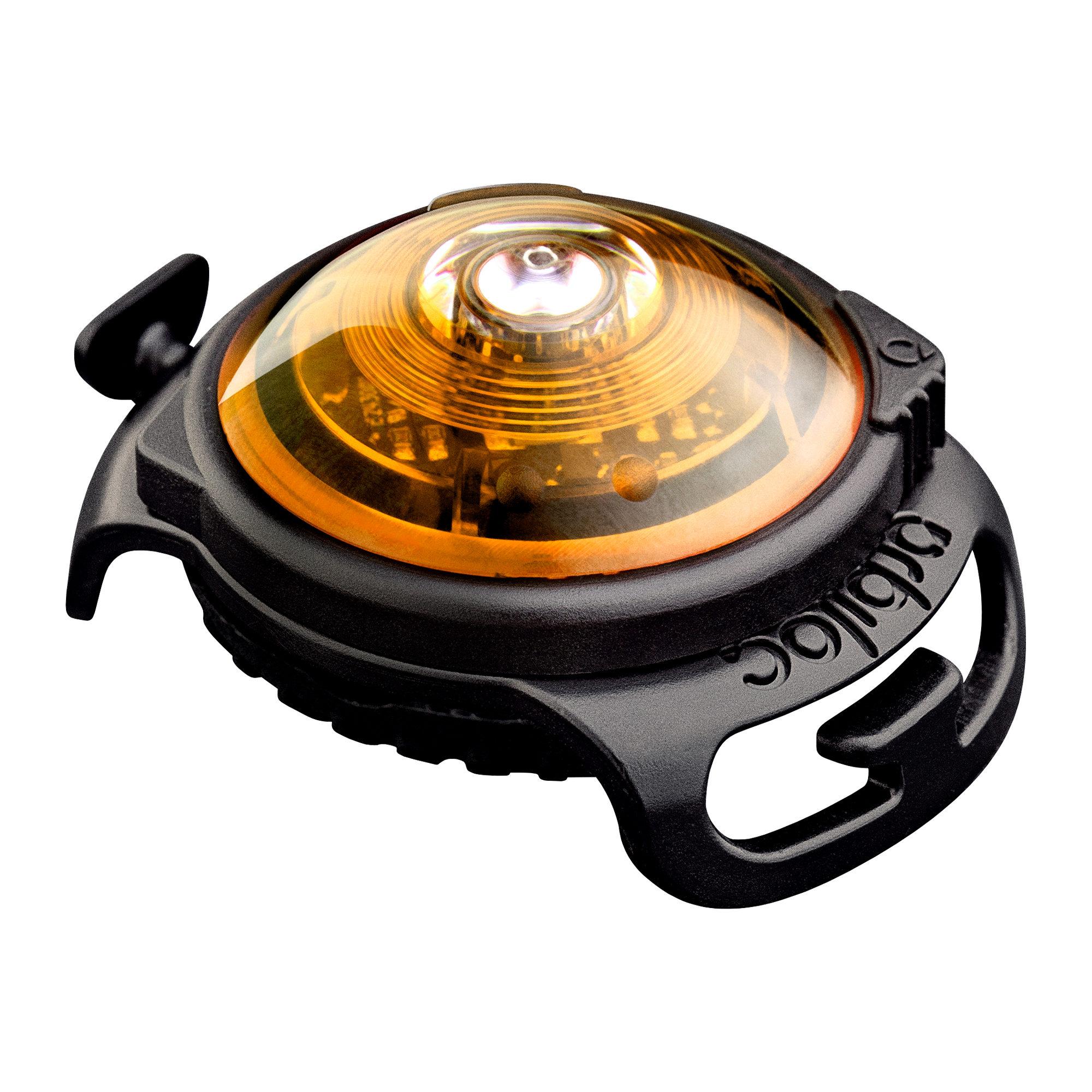 Orbiloc Dog Dual Safety Light - Jaune