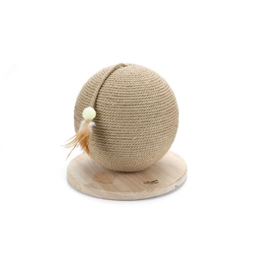 Designed by Lotte - Balle à gratter en bois - Balty