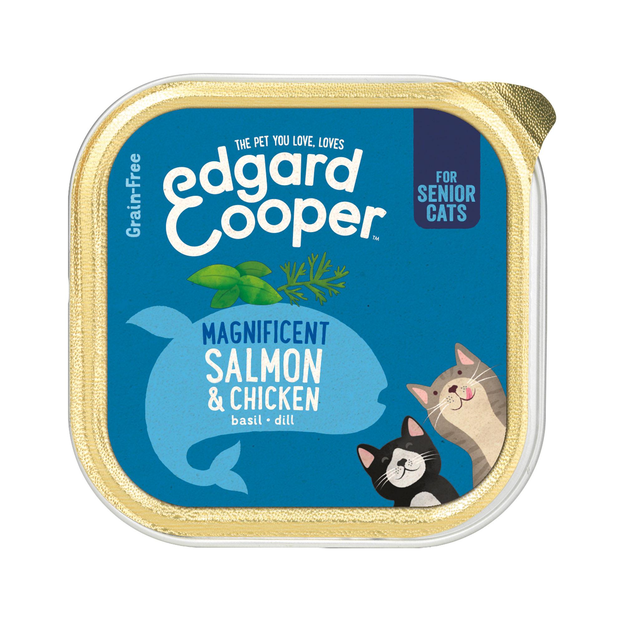 Edgard & Cooper Senior - Barquette - Poulet et saumon