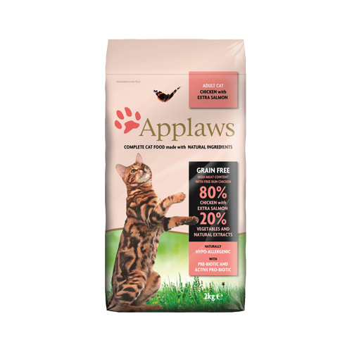 Applaws Adult Katzenfutter - Huhn & Lachs