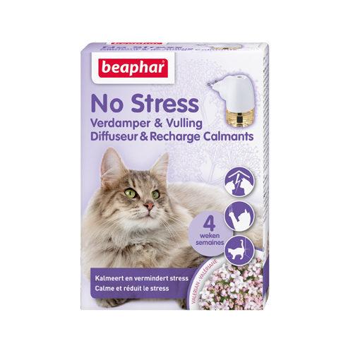 Beaphar No Stress - Chat - Diffuseur et flacon de recharge