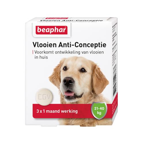 Beaphar Flohschutz für Hunde - 20 - 40 kg - 3 Tabletten