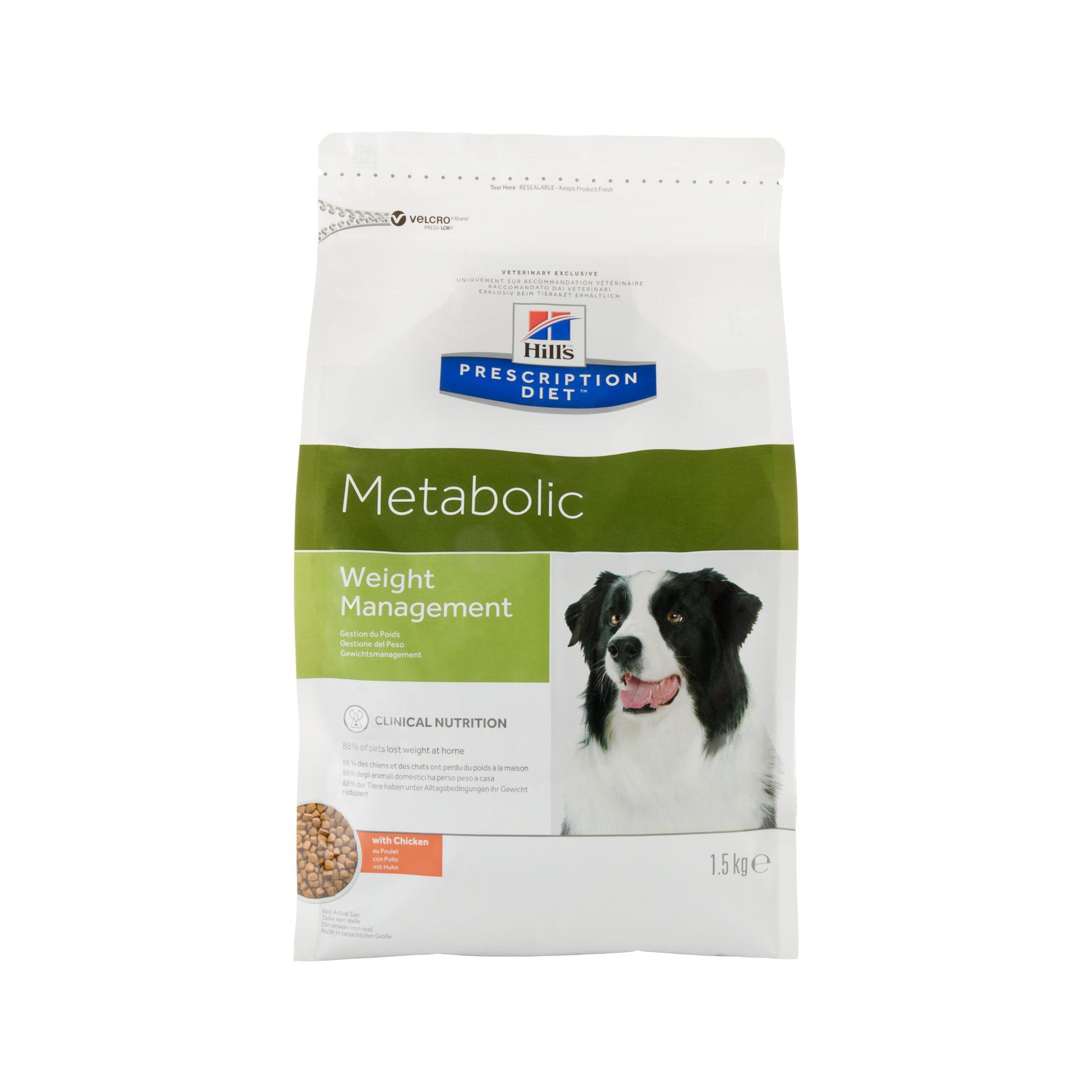 Hill's Prescription Diet Metabolic Weight Management Hundefutter