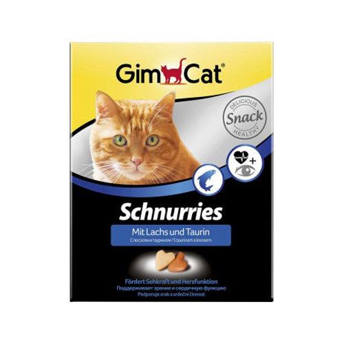 GimCat Schnurries - Saumon et taurine