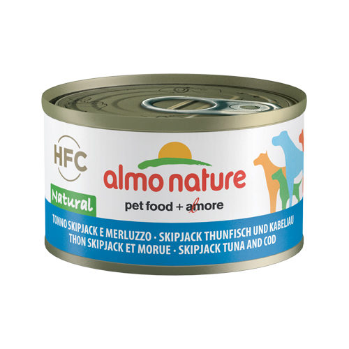 Almo Nature HFC 95 Natural Hundefutter - Dosen - Skipjack Thunfisch