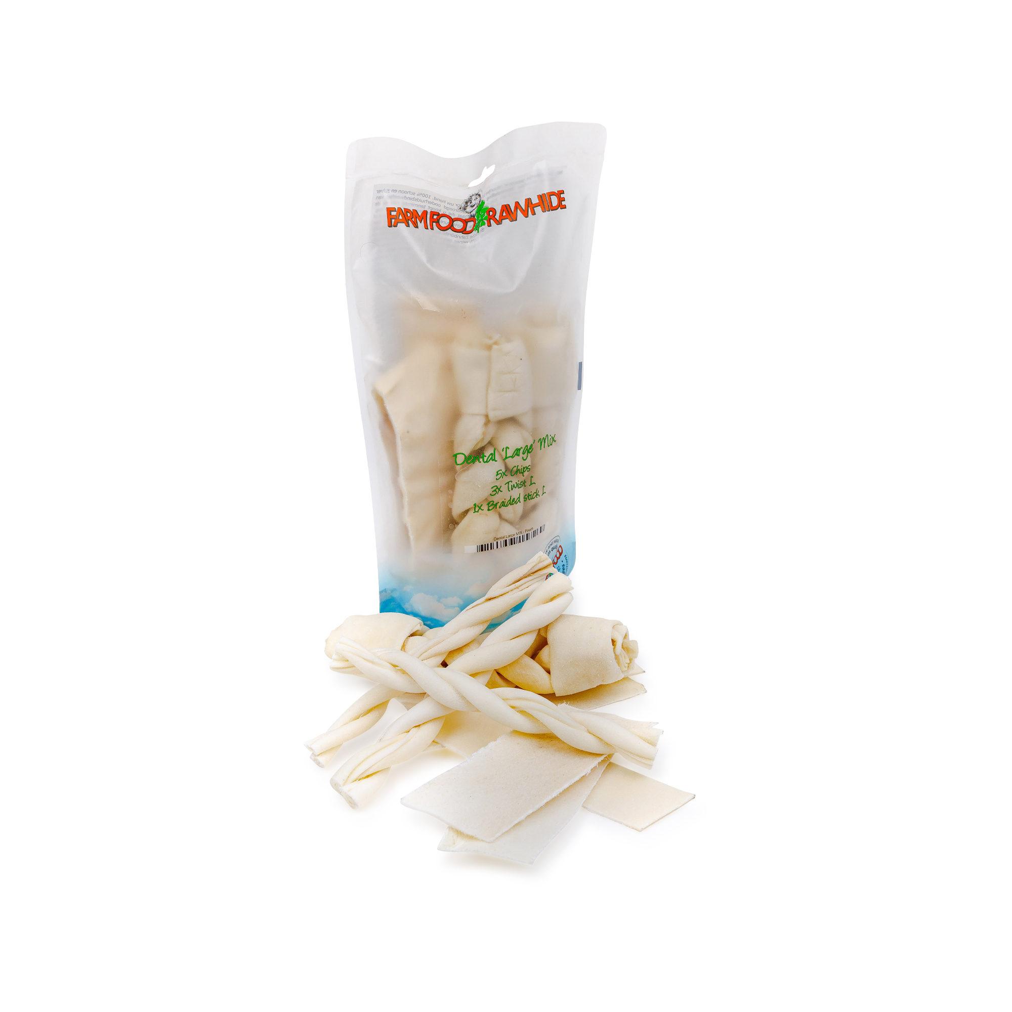 Farm Food Rawhide Dental Large Mix