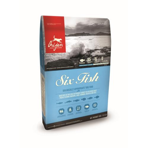 Orijen Six Fish Whole Prey Hundefutter