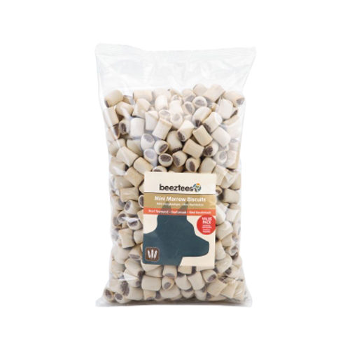 Beeztees - Biscuits mini à la moelle - 1,4 kg