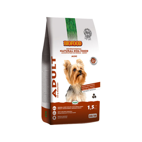 Biofood Adult Mini Hundefutter - 1,5 kg