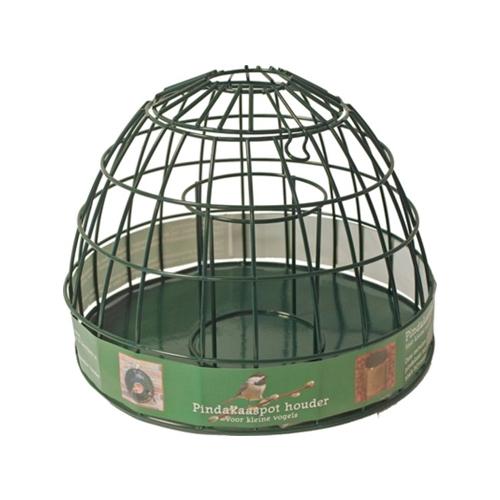 Erdnussbutter-Glashalter für kleine Vögel