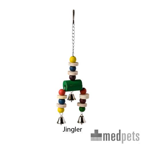 Happy Pet Bird Toy - Jingler