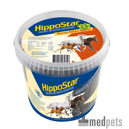 HippoStar Horse Bites - Apple