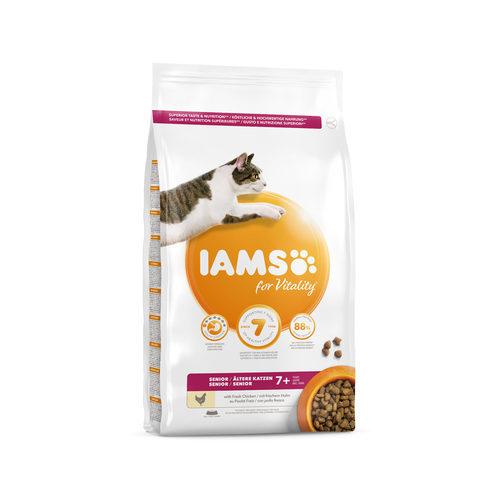 IAMS Mature & Senior Katzenfutter - Huhn
