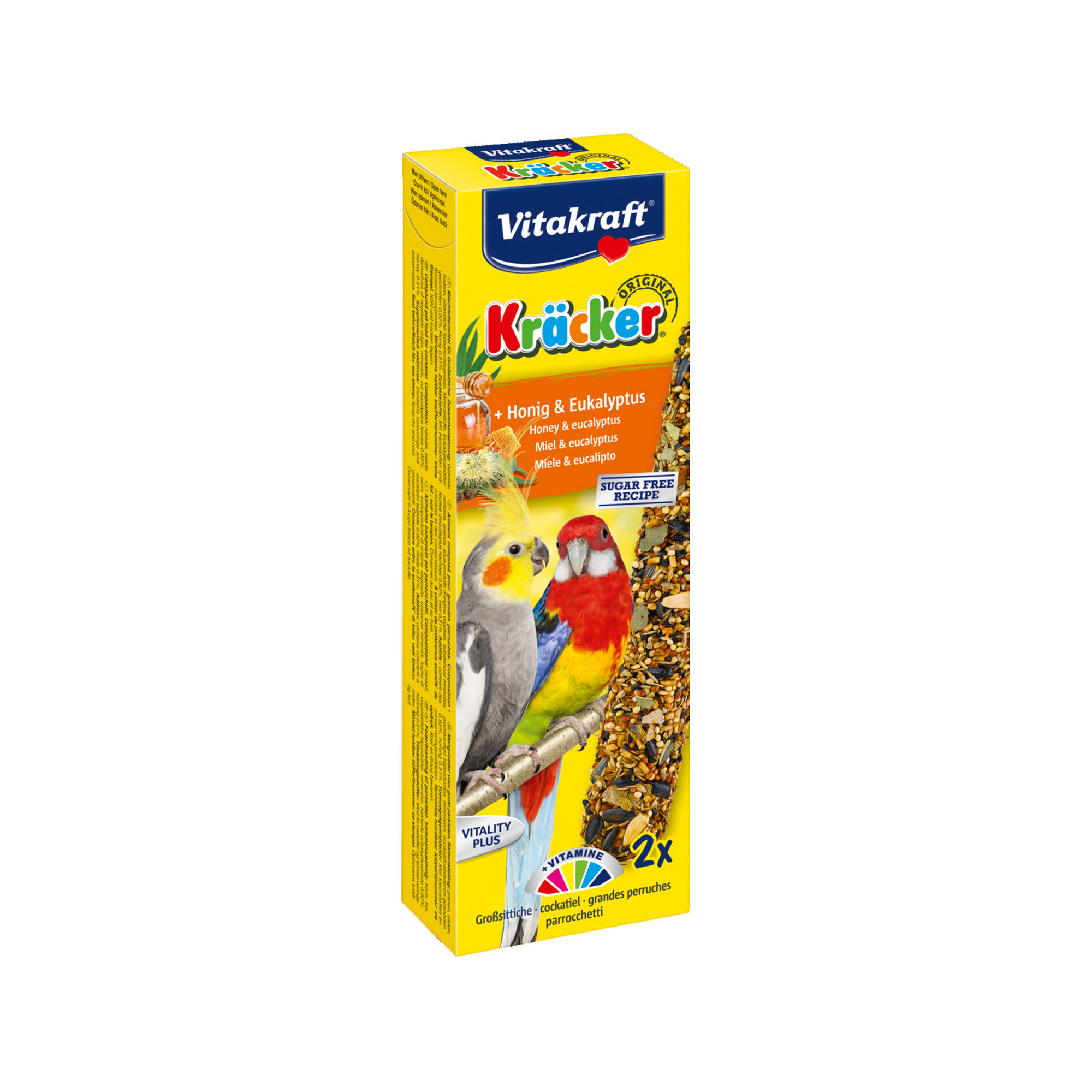 Vitakraft Kräcker - Miel et eucalyptus