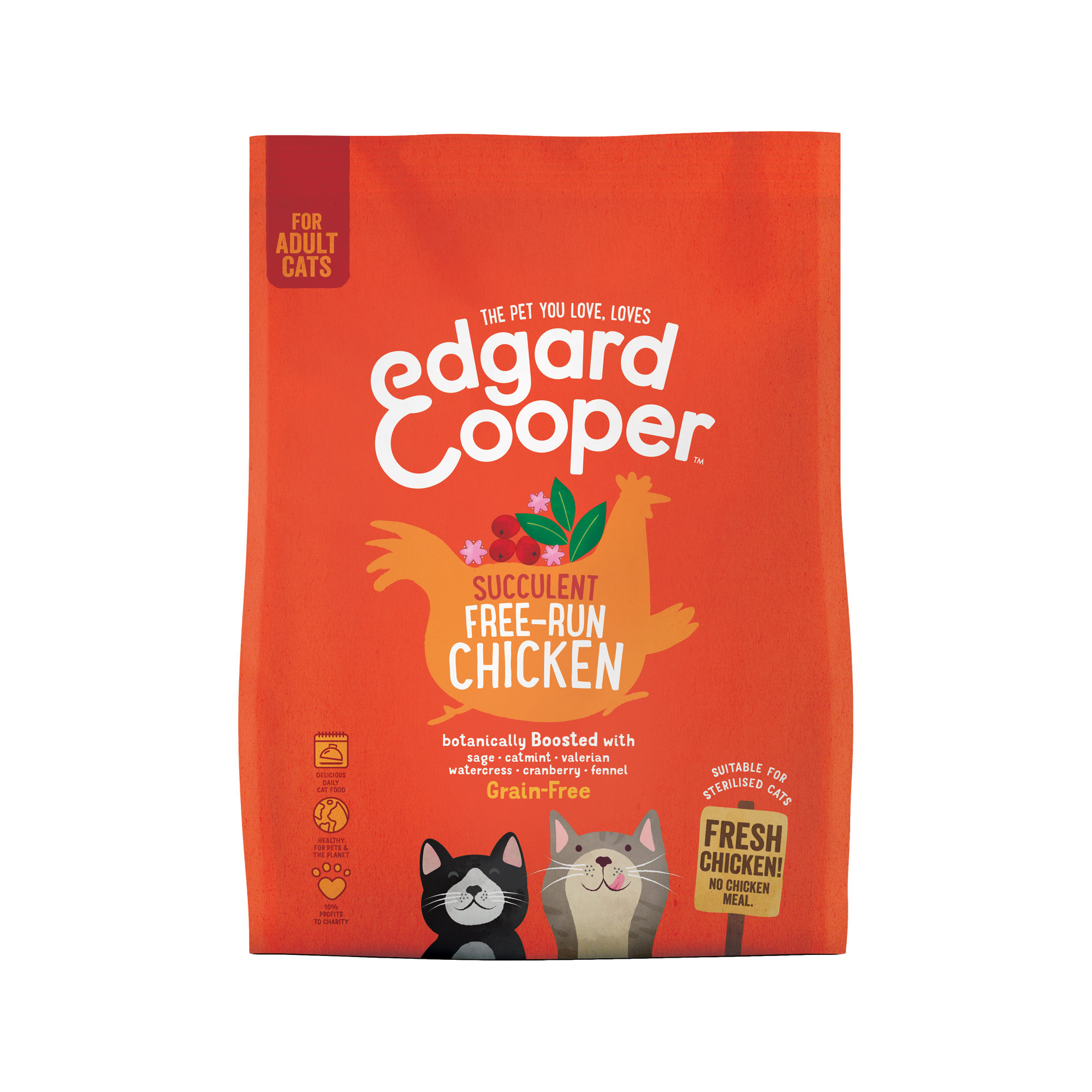 Edgard & Cooper - Chat - Adult - Poulet