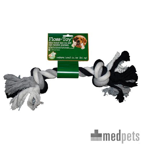 Boon Floss-Toy (Spieltau) - Schwarz / Weiß