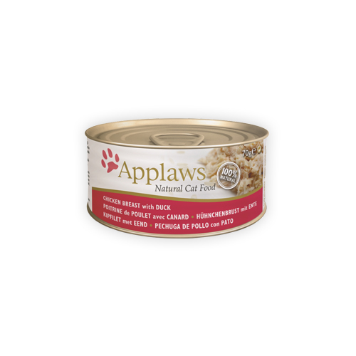 Applaws - Poitrine de poulet et canard - Boîte