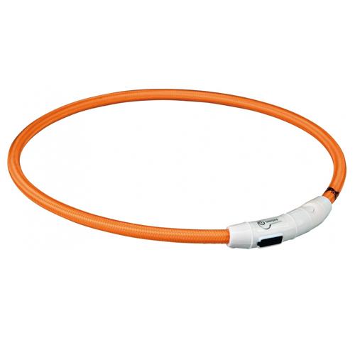 Trixie USB Anneau lumineux - Orange