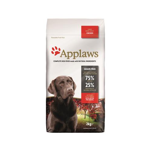 Applaws Adult Large Breed Hundefutter - Huhn - 2 kg