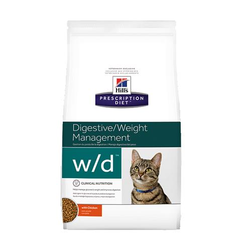 Hill's Prescription Diet w/d Low Fat/Diabetes/Colitis Katzenfutter