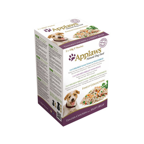 Applaws Finest Selection in Jelly Hundefutter - Frischebeutel