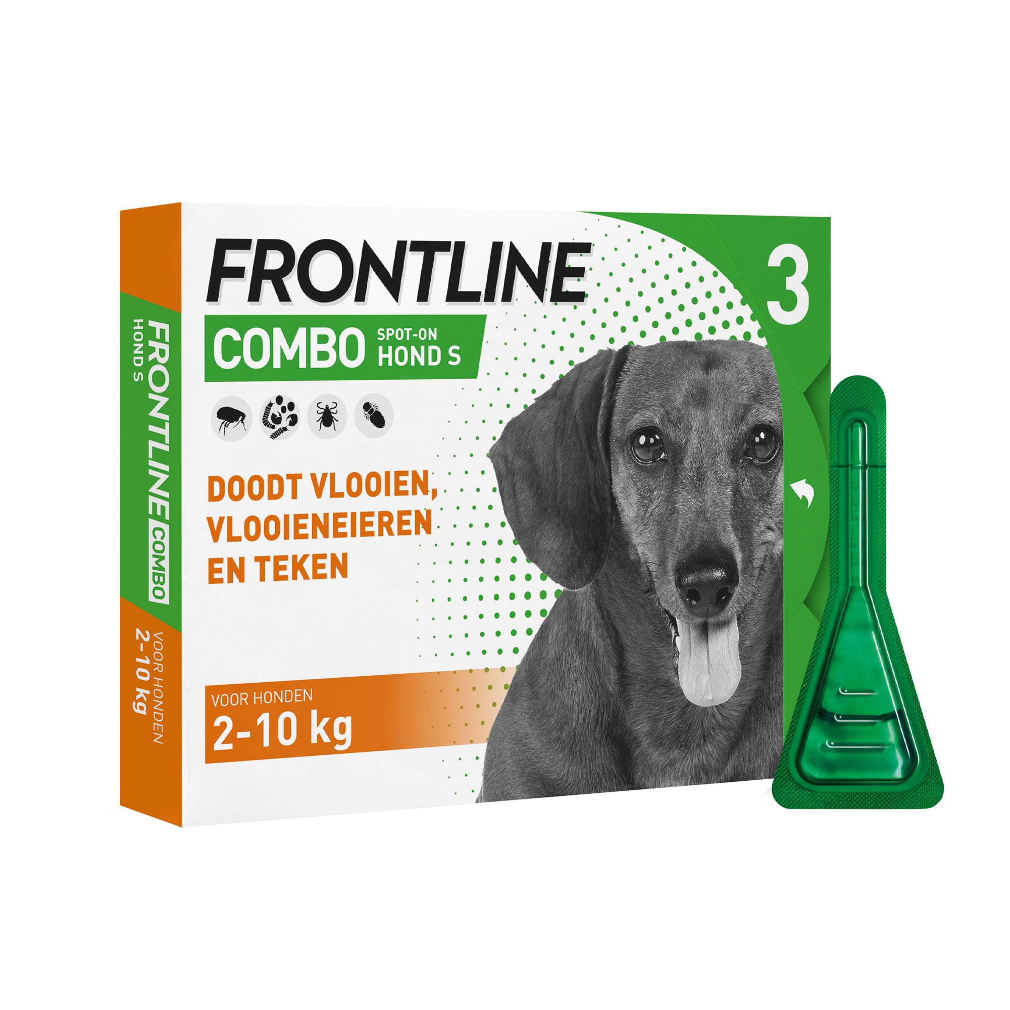 Frontline Combo Hund S - 2 - 10 kg