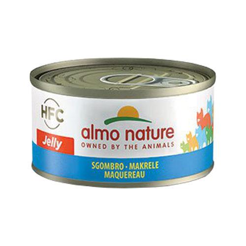 Almo Nature HFC 70 Jelly Katzenfutter - Dosen - Makrele - 24 x 70 g