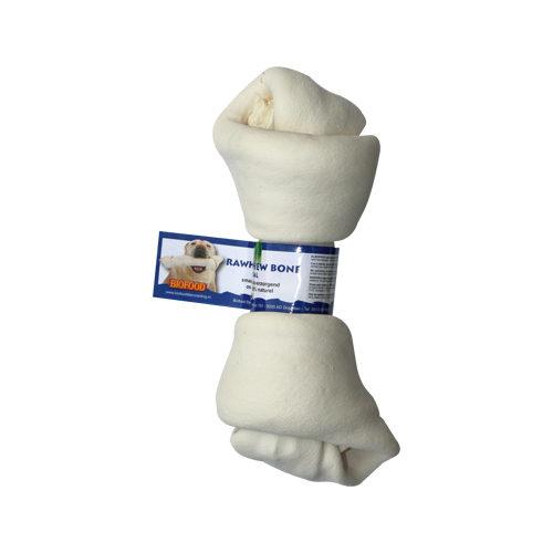 Biofood Kauknochen Rawhide Dental - Knoten - M
