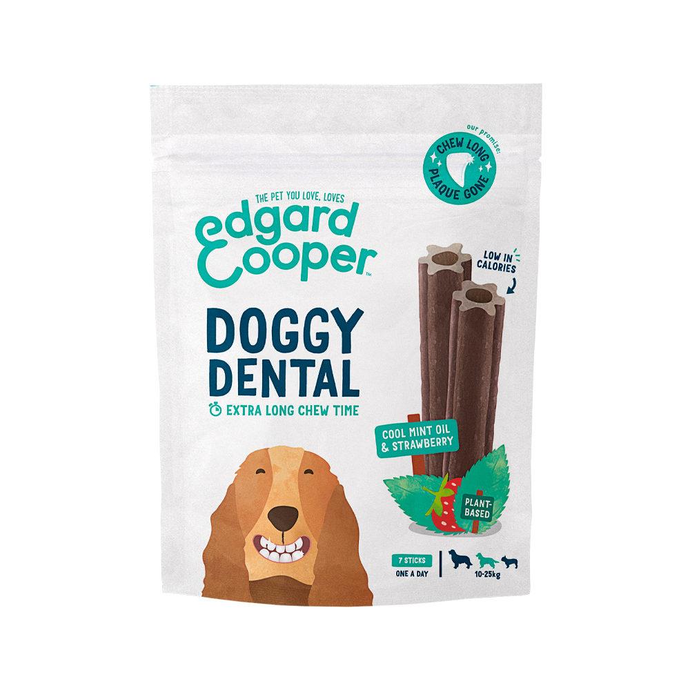 Edgard & Cooper Doggy Dental Medium - Minze & Erdbeere