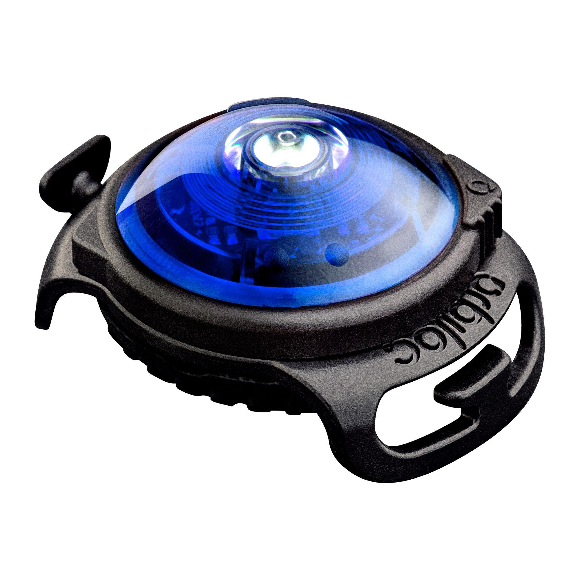 Orbiloc Dog Dual Safety Light - Blau
