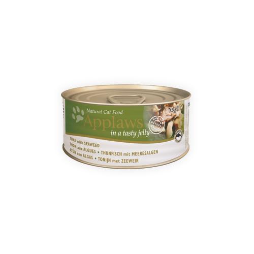 Applaws Jelly Katzenfutter - Tuna & Seaweed - 24 x 70 g