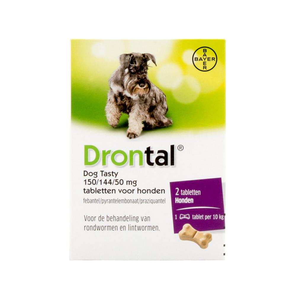 Drontal Dog Tasty - 2 tabletten