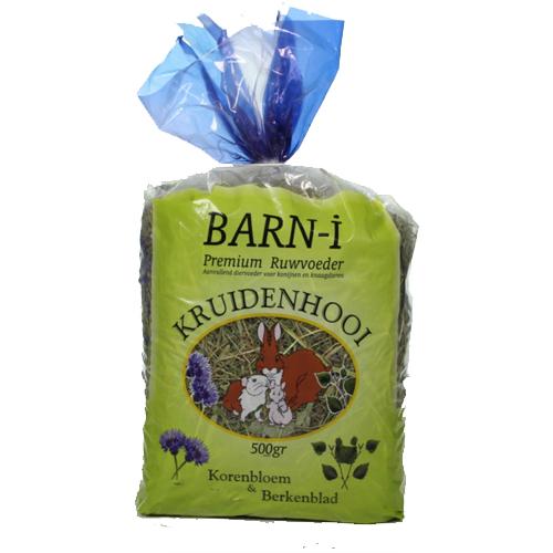 Barn-i Kräuterheui - Kornblume und Birkenblatt - 500 g