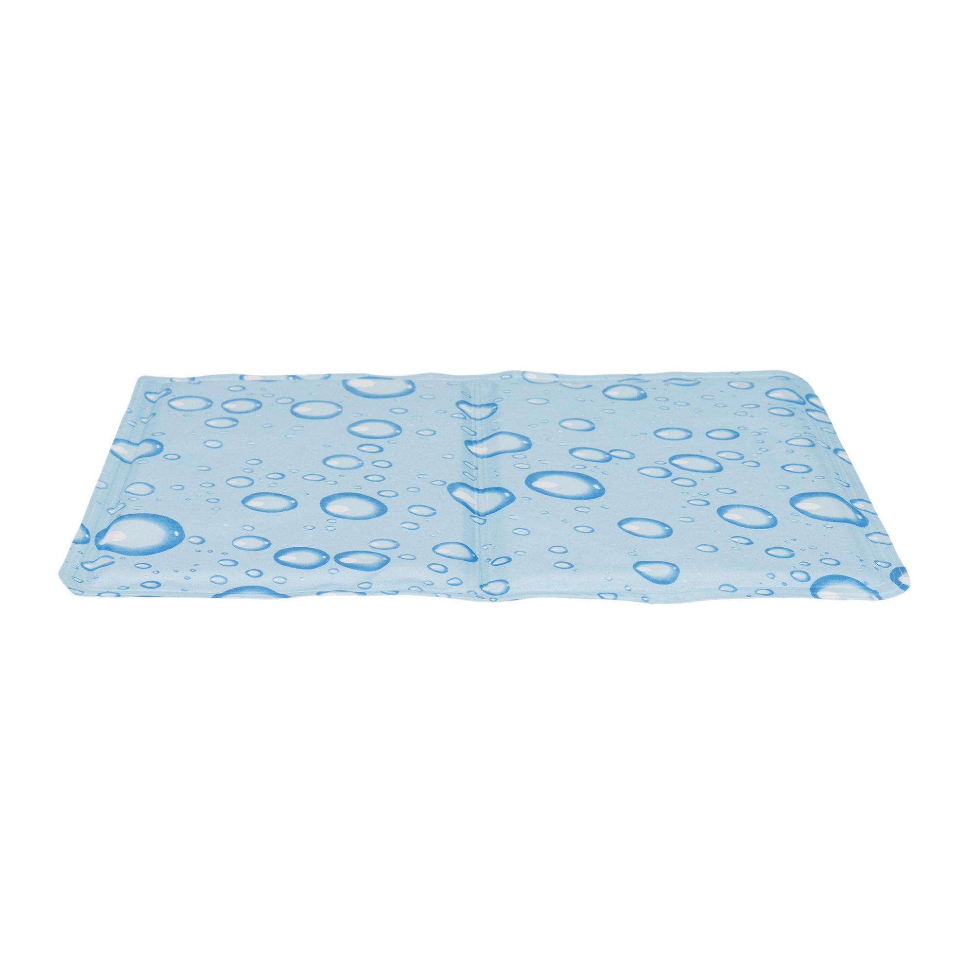 Trixie Kühlmatte - Tropfen Hellblau - 40 x 30 cm