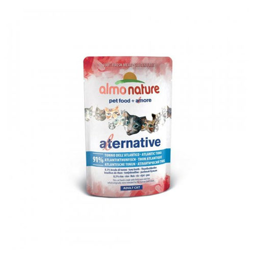 Almo Nature Alternative - Thon de l'Atlantique - Boîte - 24 x 55 g