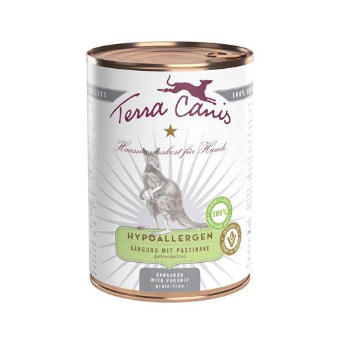 Terra Canis Hypoallergen Hundefutter - Dosen - Känguru mit Pastinake