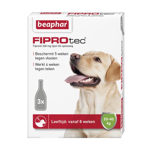 Beaphar FiproTec - Spot-On pour chien - 20 - 40 kg