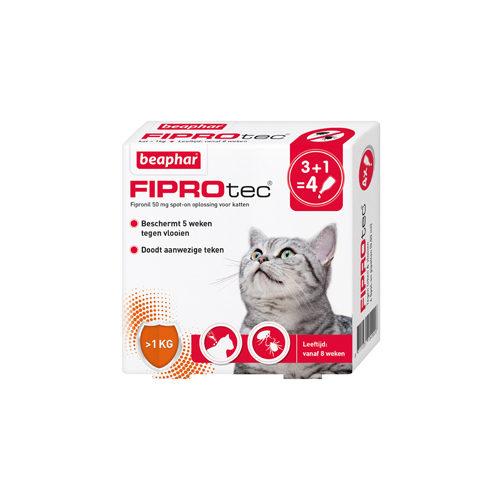 Beaphar FiproTec - Spot-On pour chat