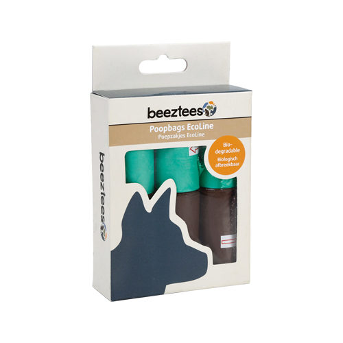 Beeztees - Distributeur de sacs à déjection - Recharge - 6 x 10 unités