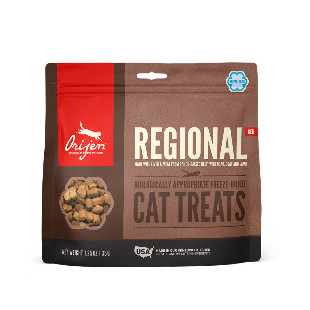 Orijen Freeze Dried Whole Prey Treats - Regional Red