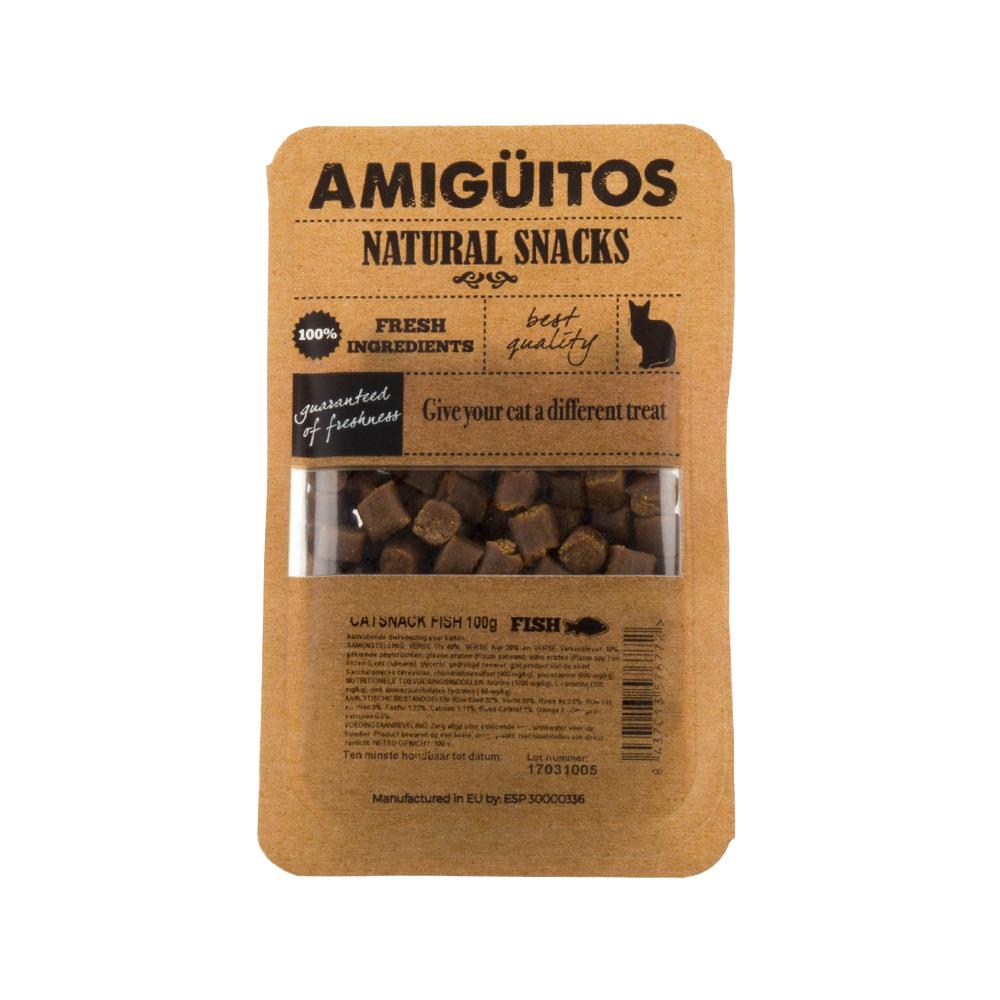 Amigüitos Catsnacks - Poisson - 100 g