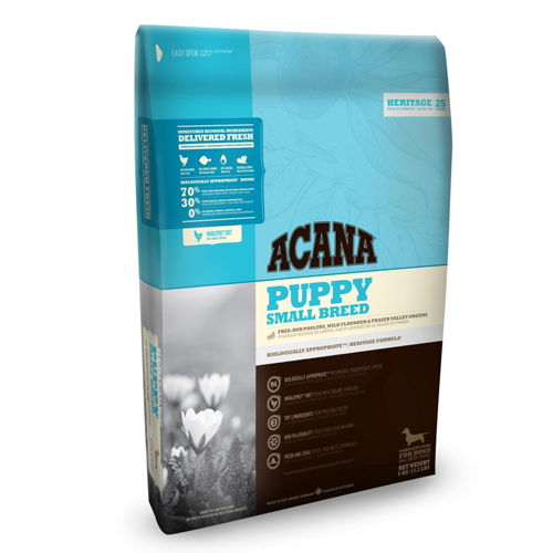 Acana Puppy Small Breed Heritage Hundefutter