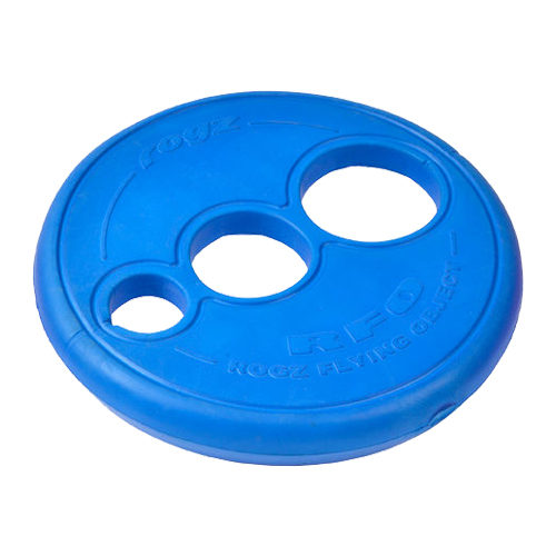 Rogz Flying Object Frisbee - Bleu