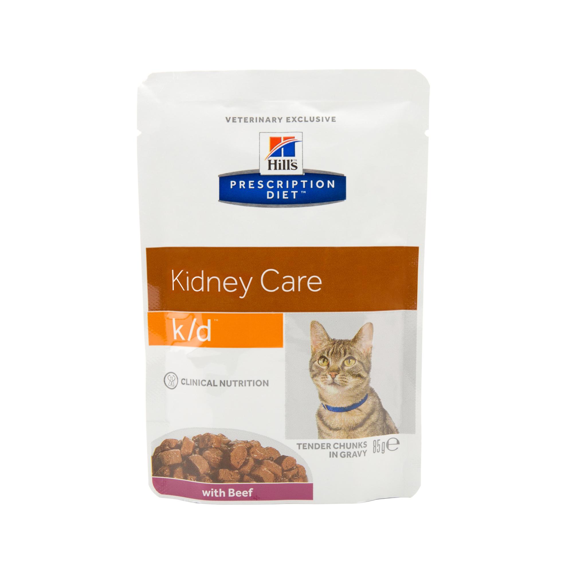 Hill's Prescription Diet k/d Kidney Care - Sachet - Bœuf