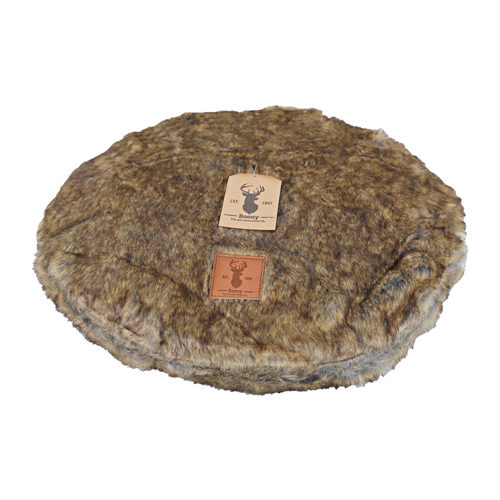 Boony Est. 1941 - Coussin rond pour lit - Grizzly Brown