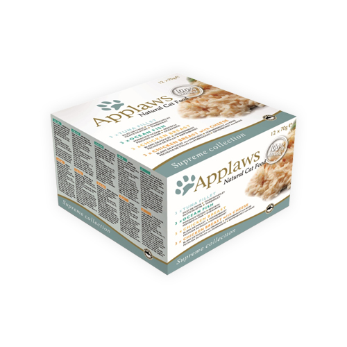Applaws Supreme Collection - Boîte - 12 x 70 g
