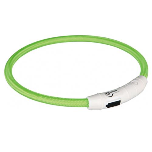 Trixie USB Leuchtring - Grün