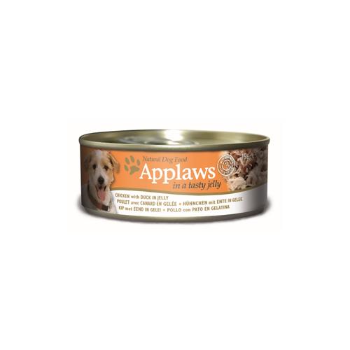 Applaws - Poulet et canard en gelée - Boîte - 12 x 156 g