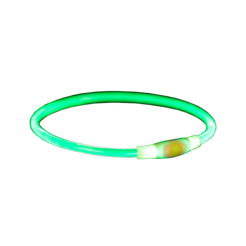 Trixie - Anneau lumineux USB flash - Vert